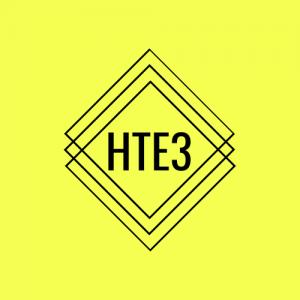 HTE3 logo yellow